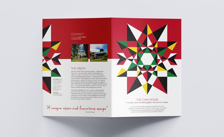 A4 four page brochure design