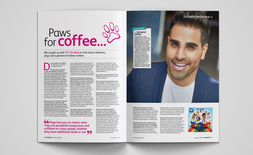 Favour magazine interview