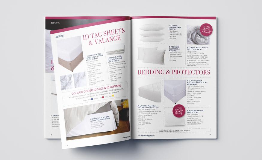 Printed product brochure