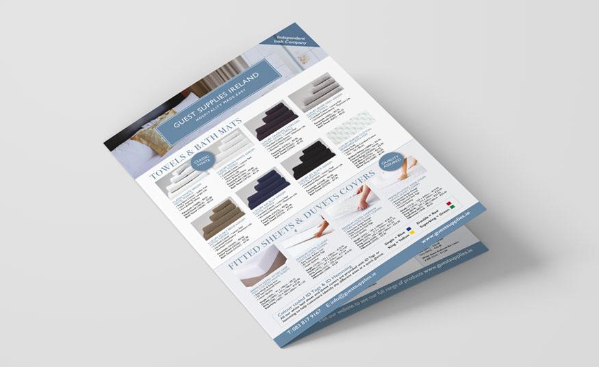 A3 product brochure