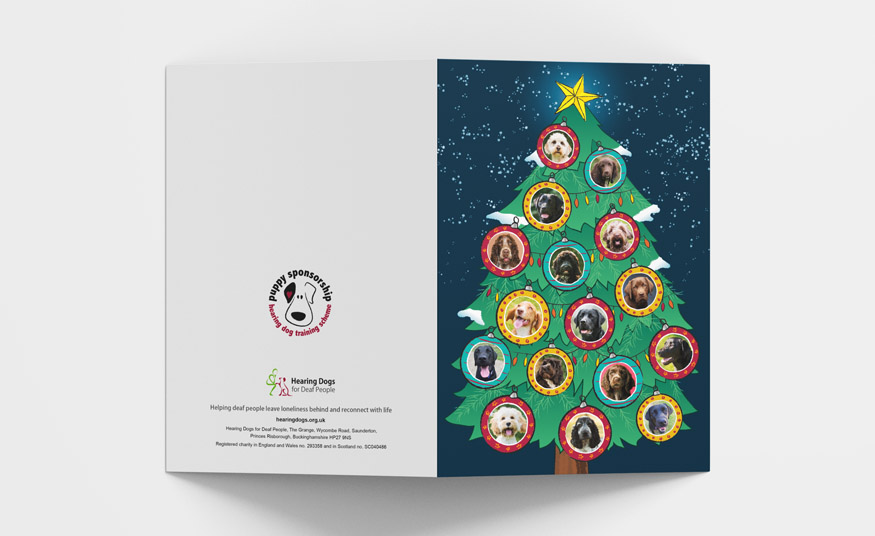 Illustrated Chirstmas card design