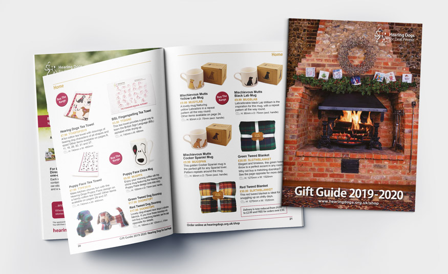Gift Guide product brochure