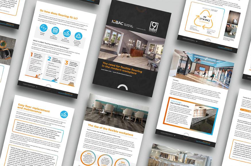 Digital pdf product brochure