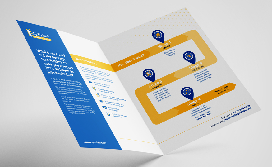Buiness overview brochure design