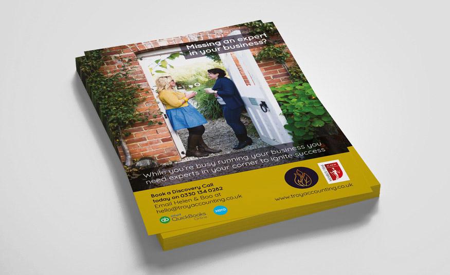 A5 leaflet design