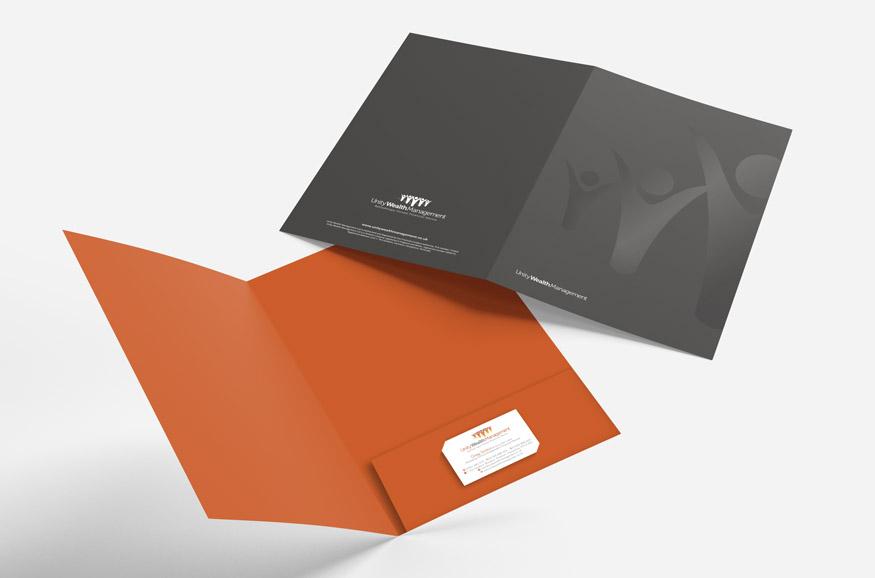 Unity Wealth presentation folder