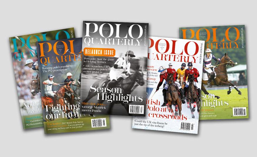 Polo Quarterly Magazine Covers